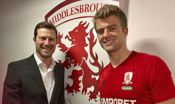 Middlesbrough striker Patrick Bamford