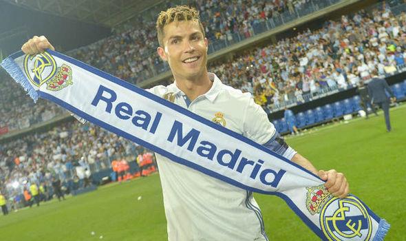 Real Madrid Man Utd Barcelona Cristiano Ronaldo