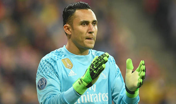 Real Madrid Manchester United Keylor Navas Transfer News