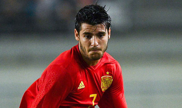 Real Madrid Transfer News Alvaro Morata Manchester United