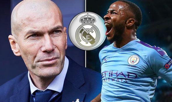 Real Madrid: Zidane eyes Raheem Sterling transfer after Man City Champions League ban | Football | Sport | Express.co.uk