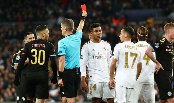 Liverpool fans taunt Sergio Ramos after Real Madrid star's red card in Man City defeat   Football   Sport   Express.co.uk