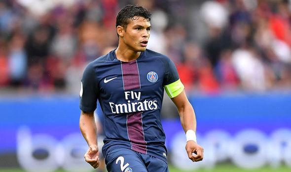 Thiago Silva Transfer News PSG Defender Puts Contract