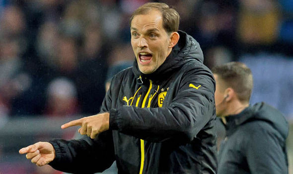 Thomas Tuchel at Dortmund