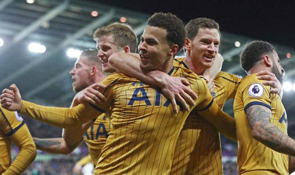 Dele Alli Tottenham Real Madrid