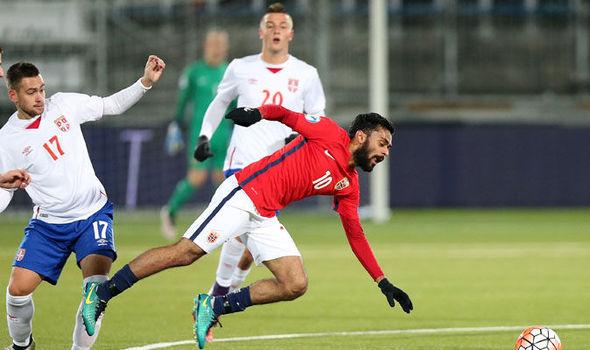 Valerenga midfielder Ghayas Zahid