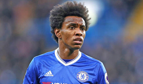 Willian Chelsea Manchester United
