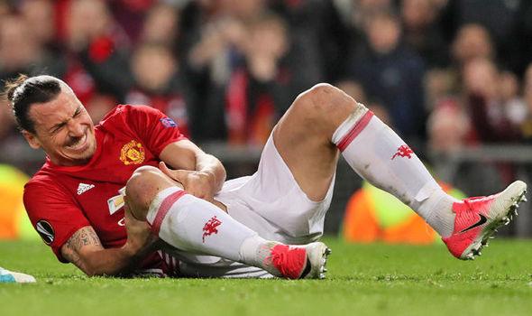 Image result for zlatan ibrahimovic injury