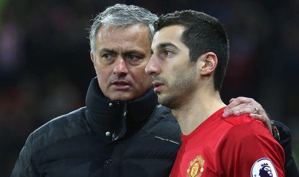 Mkhitaryan and Mourinho