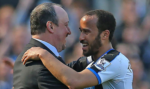 Andros Townsend Newcastle