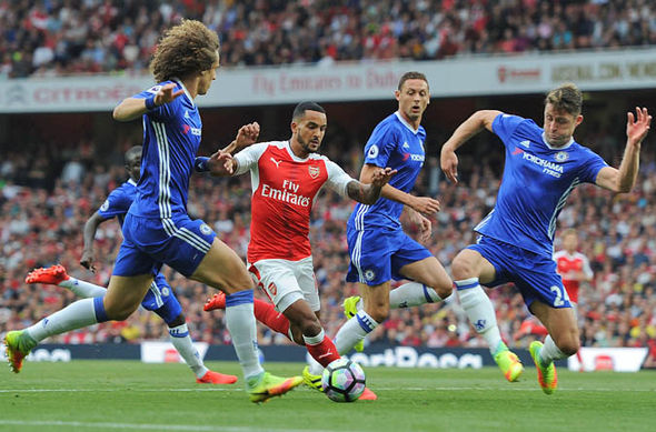 Antonio Conte changed Chelsea's formation after the loss to Arsenal
