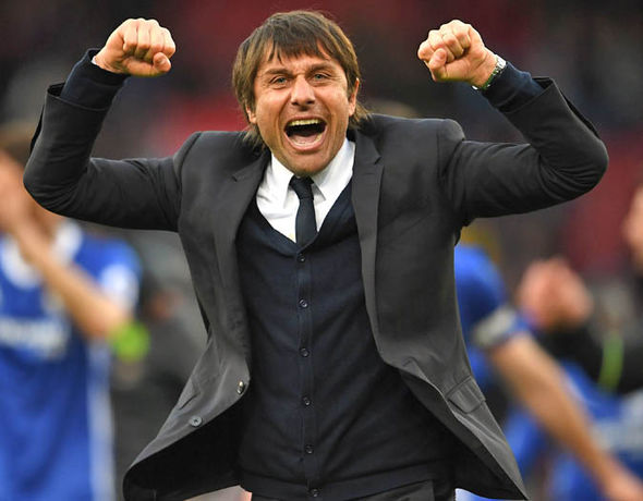 Antonio Conte has led Chelsea 10 points clear at the top of the Premier League