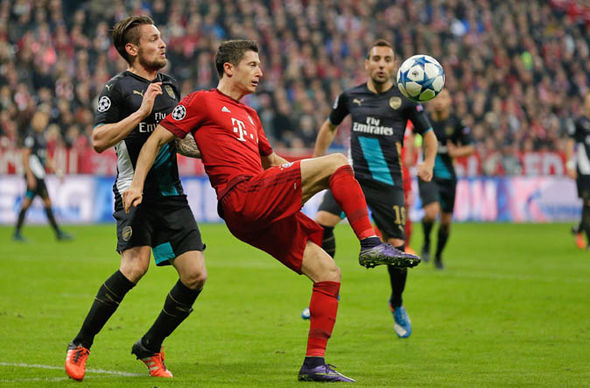 Arsenal lost to Bayern Munich twice in the past five years at this stage of the competition