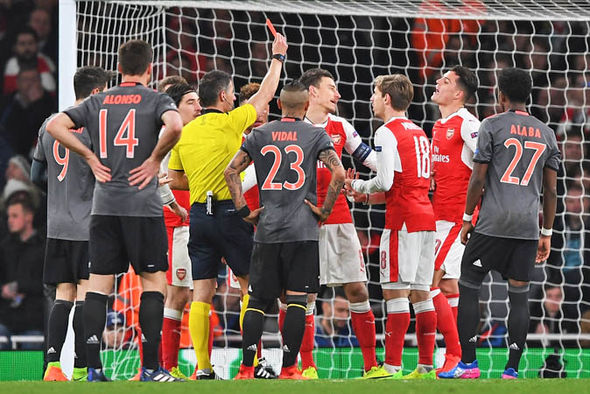 Arsenal's 10-2 aggregate defeat was the worst of any English side in Champions League history