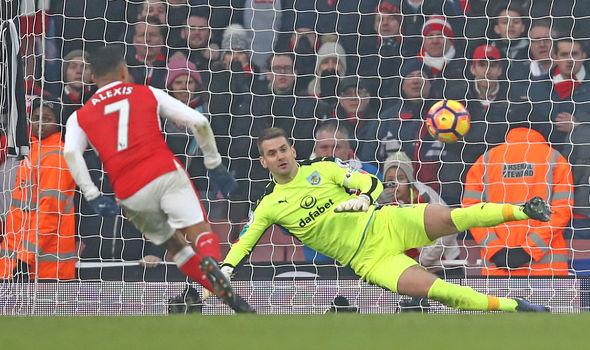 Arsenal sar Alexis Sanchez