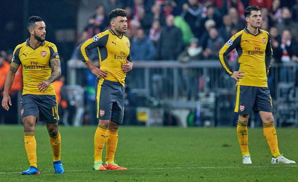 Arsenal were humiliated by Bayern Munich in the week