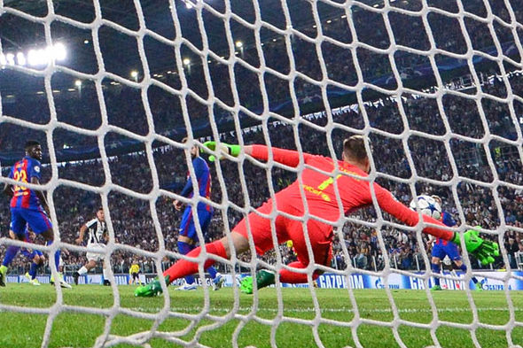 Barcelona v Juventus latest score