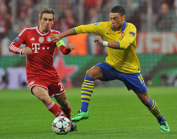 Oxlade Chamberlain at Bayern Munich