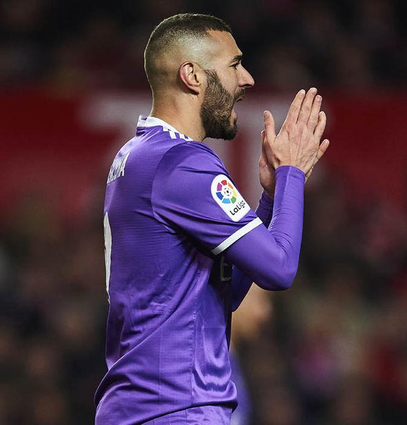 Arsenal transfer target Karim Benzema