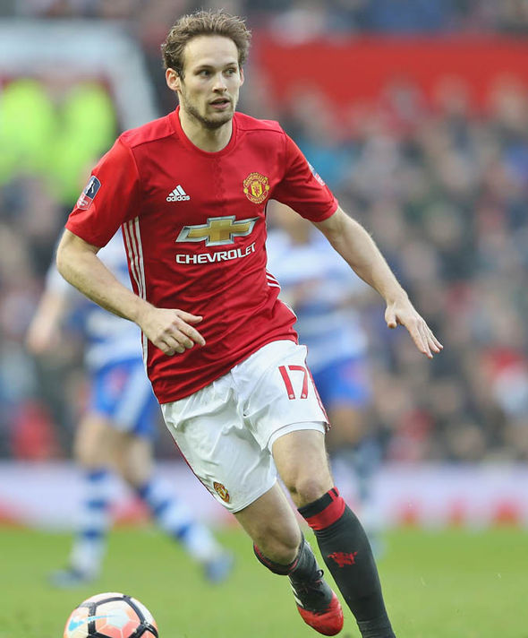Blind at Manchester United