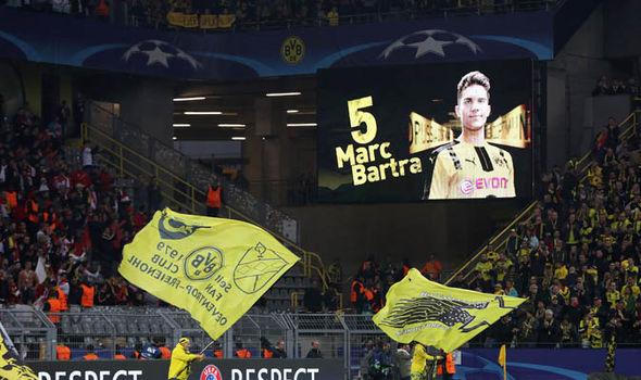 Borussia Dortmund Marc Bartra