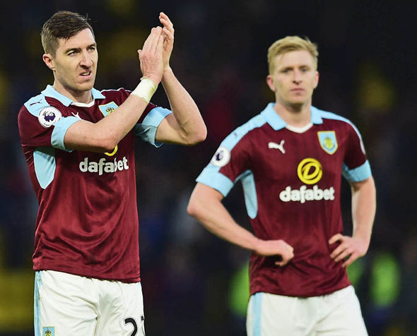 Burnley have earned just one point on their travels all season