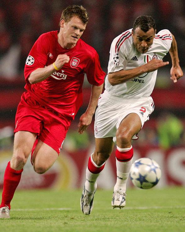 Cafu against Liverpool