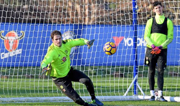 Chelsea Asmir Begovic Thibaut Courtois