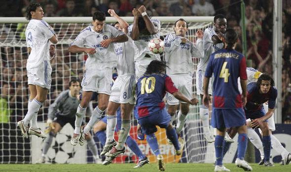 Ronaldinho Barcelona Chelsea