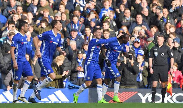 Chelsea v Burnley goal