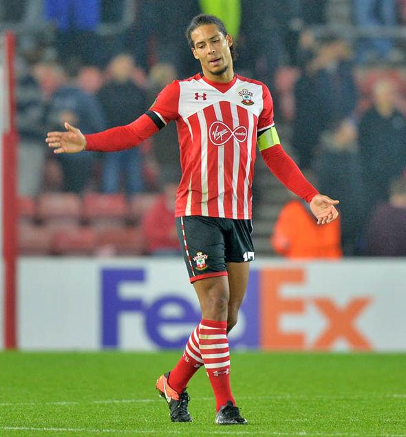 Van Dijk at Southampton