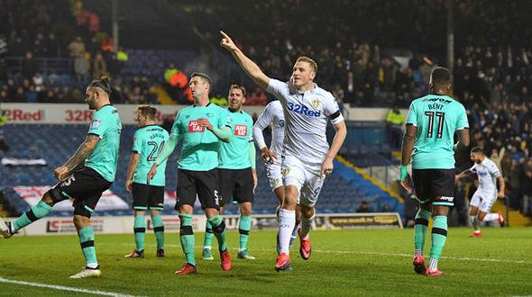 Chris Wood at Leeds