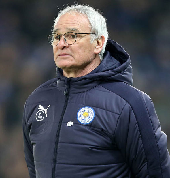 Claudio Ranieri's Leicester are dangerously close to the relegation zone