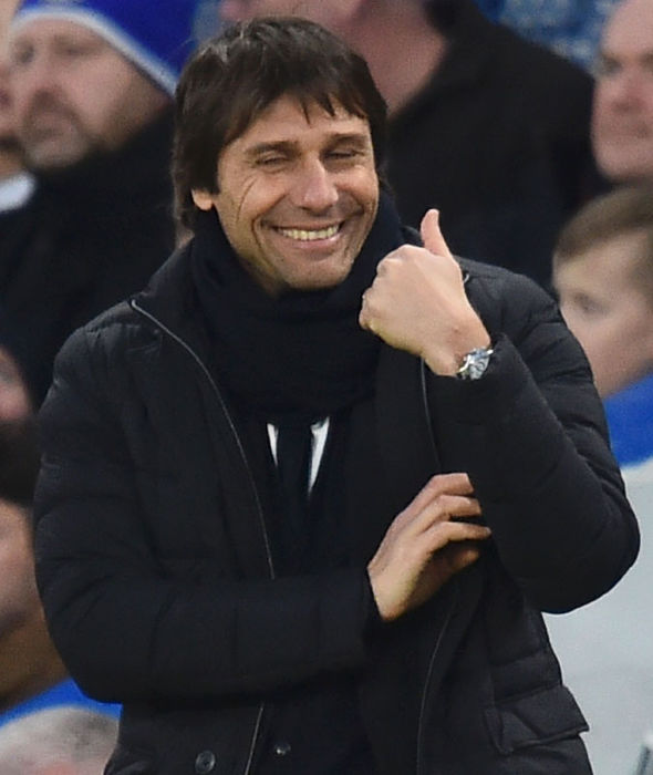 Chelsea boss Antonio Conte during the FA Cup win over Bournemouth