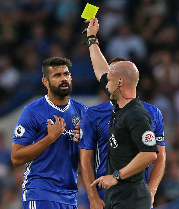 Costa has missed 12 games through suspension during his time at Chelsea