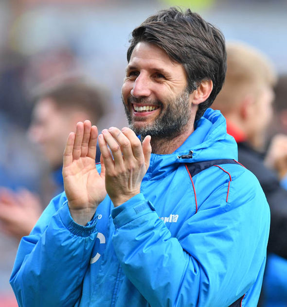 Danny Cowley only took over at Lincoln from Braintree along with his brother Nicky in the summer