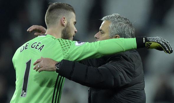 David De Gea, Jose Mourinho