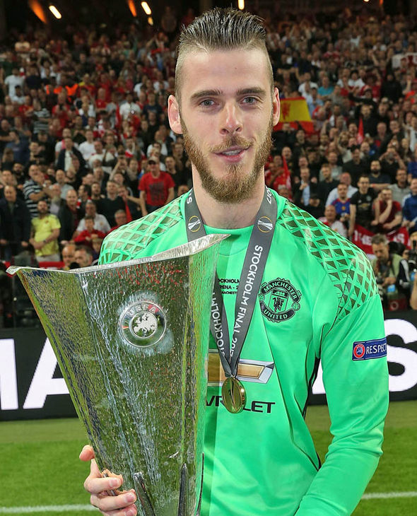 David De Gea has been strongly linked with a move to Real Madrid