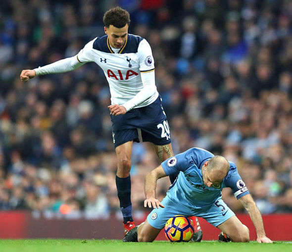 Dele Alli at Spurs