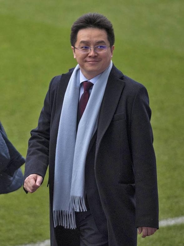 Dr Tony Xia Aston Villa