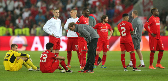 Liverpool lose the Europa League final