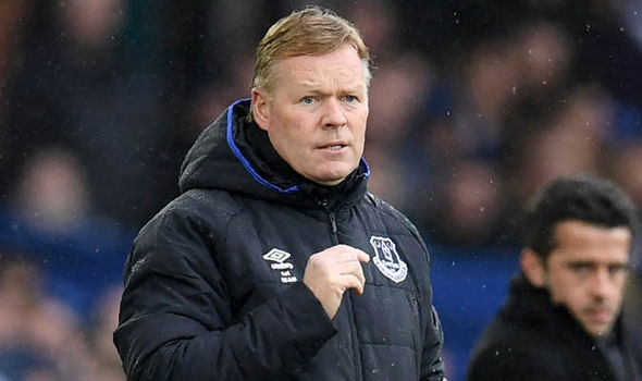 Ronald Koeman Everton