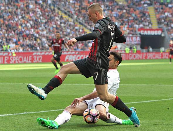 Gerard Deulofeu at AC Milan