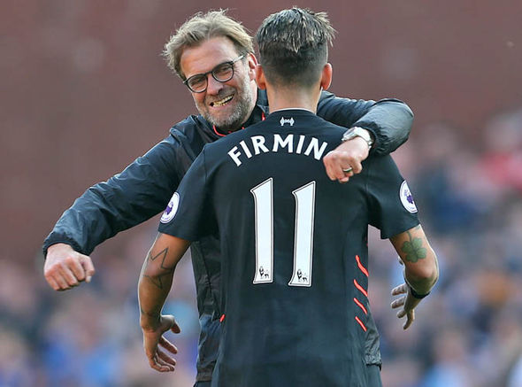 Firmino and Coutinho saved Jurgen Klopp's blushes
