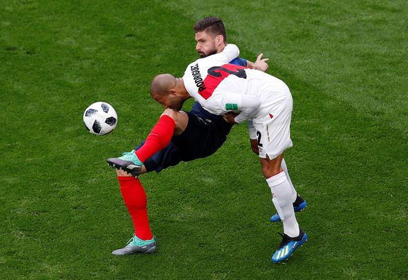France vs Peru: Live World Cup score, goals and updates as Antoine Griezmann starts  World Cup result: France 1-0 Peru; Kylian Mbappe scores as Les Bleus reach knockout stages | Football | Sport France vs Peru Live World Cup score goals and updates as Antoine Griezmann starts 1390363