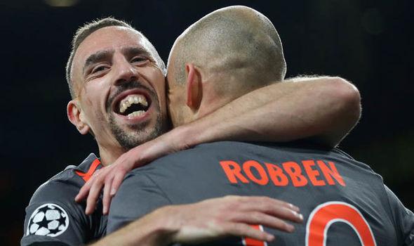 Franck Ribery Arsenal