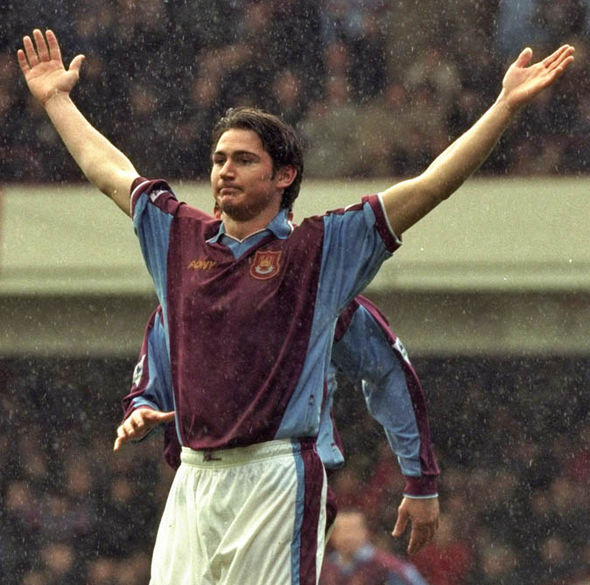 Frank Lampard began his career at West Ham