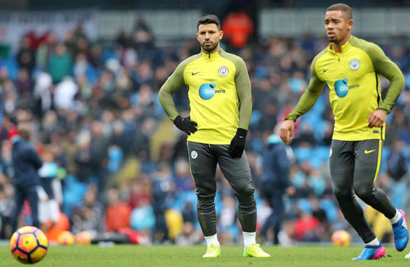 Gabriel Jesus at Manchester City