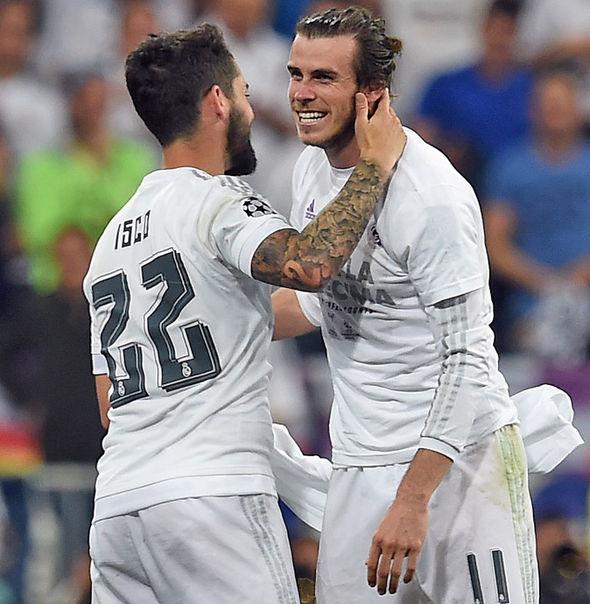Gareth Bale Isco
