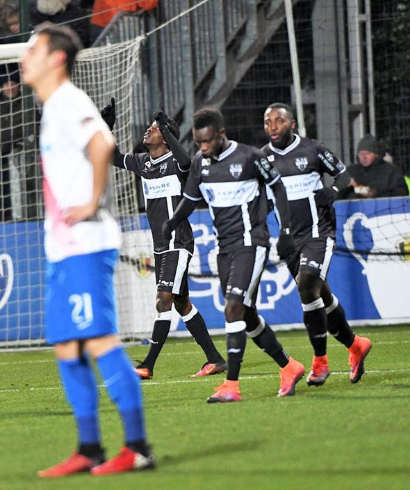 Henry Onyekuru scores for Eupen